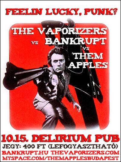 Oct. 15. Delírium Pub