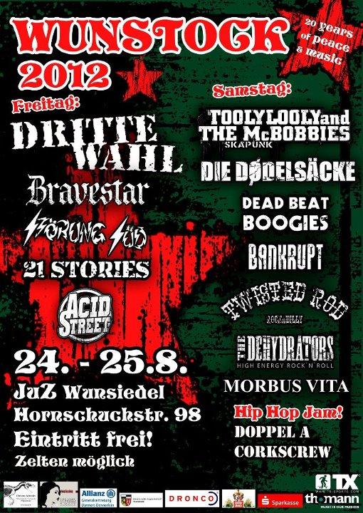 Wunstock festival 2012